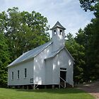 Cades Cove Church by LarryB007