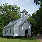 Cades Cove Church by LarryB007