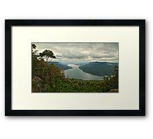 Burragorang Valley Framed Print