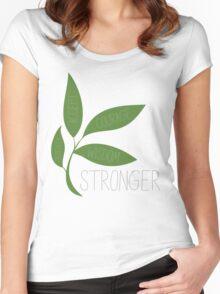 TK Alum Serenity Prayer Women's Fitted Scoop T-Shirt