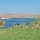Lake Argyle,  Ord River, Kununurra, Western Australia by Margaret  Hyde