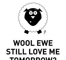 SHEEP CARD 3 by mjfouldes