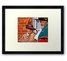 Town Crier and his Lady Framed Print