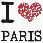 I Love Paris  by FC Designs