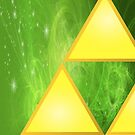 Zelda Triforce iPhone Case v4 by BrotherDeus