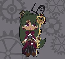 Sailor Pluto - steampunk by CptnLaserBeam