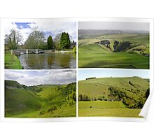 Peak District Landscapes 01-Plain  Poster