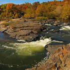 Big Falls, Eau Claire County by Christine Ertl