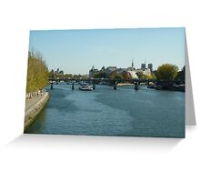 A Trip on the Seine Greeting Card