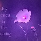 Joy Comes...Hope for Our pink October World by budrfli