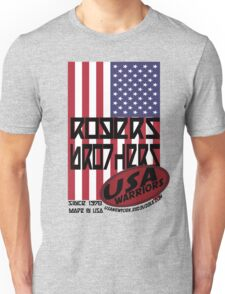 usa flag warriors by rogers bros T-Shirt