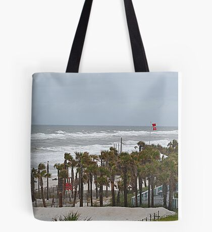 Double Red Flags Tote Bag