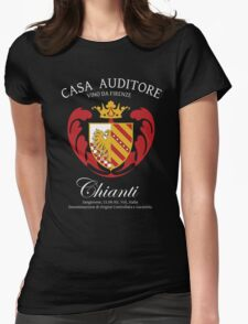Vino Auditore  Womens Fitted T-Shirt
