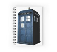 Tardis Spiral Notebook