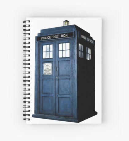 Tardis Spiral Notebook