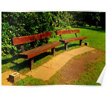Take a seat, in memory of me... Poster