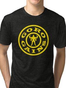 Mortal Kombat Decay's #GOROGAINS Tri-blend T-Shirt