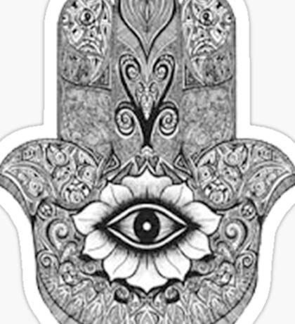 MANDALA HAND Sticker