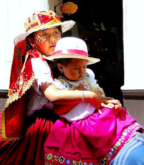 Cuenca Kids 195 by Al Bourassa