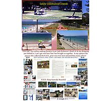 Lady Robinsons Beach - what a pleasant location to relax.  Photographic Print