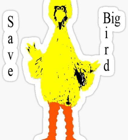 Save Big Bird Sticker