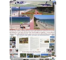 Lady Robinsons Beach - what a pleasant location to relax.  iPad Case/Skin
