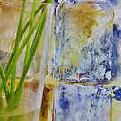 Stems on Abstract by Xoanxo