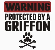 Warning Protected By A Griffon One Piece - Long Sleeve