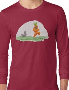 If Vegetables Could Run Long Sleeve T-Shirt