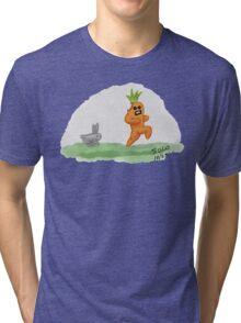 If Vegetables Could Run Tri-blend T-Shirt