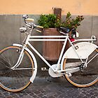 Retro Bicycle in Italy by Tiffany Muff
