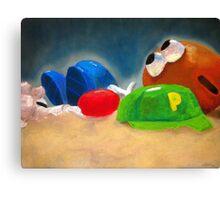 Baked Potatohead Canvas Print
