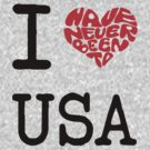 I Love USA by FC Designs