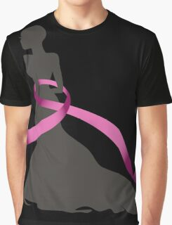 Pink Ribbon Graphic T-Shirt