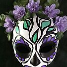 Day of the Dead Sugar Skull MAsk by Suzi Linden