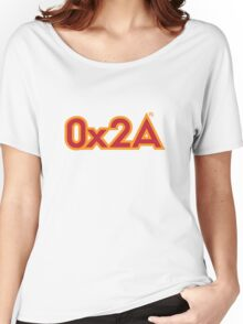 The Answer in Hexadecimal Women's Relaxed Fit T-Shirt