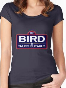 Bird Snuffy 2012 Women's Fitted Scoop T-Shirt
