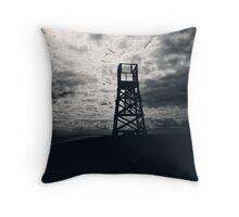 Police Tower Throw Pillow