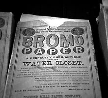 Bromo Paper by James Taylor