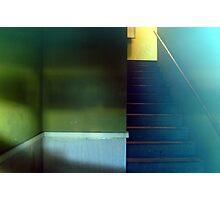 Retro Stairwell Photographic Print