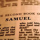 2nd Samuel Bible Page by Tiffany Muff