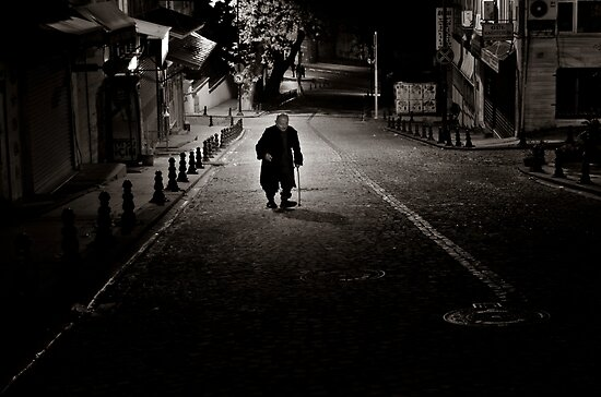 Lone Walk Into The Night by Mojca Savicki