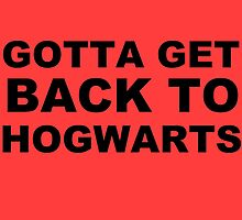 """Gotta Get Back To Hogwarts"" Poster by Lynsey Campbell"