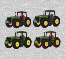 4 tractor fun One Piece - Long Sleeve