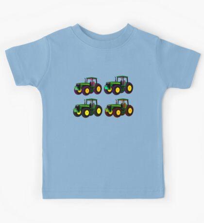 4 tractor fun Kids Tee