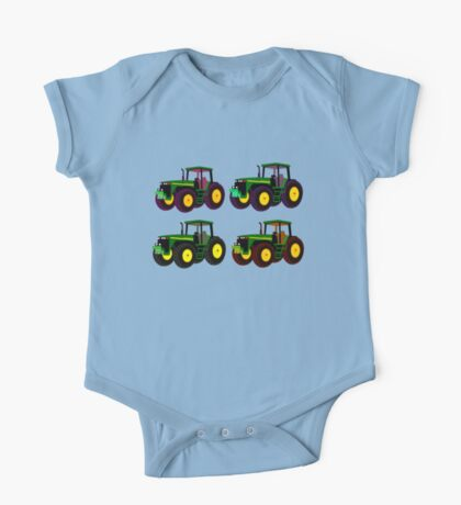 4 tractor fun One Piece - Short Sleeve