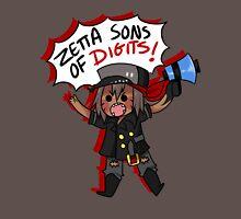 Zetta Sons of Digits >:( Unisex T-Shirt