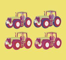 4 tractor fun One Piece - Short Sleeve