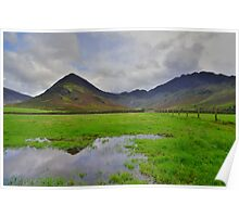 The Lake District: Fleetwith Pike & Haystacks Poster