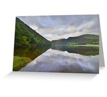 The Lake District: Brother's Water Reflections Greeting Card